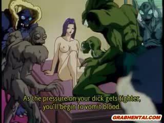 Best monster hentai
