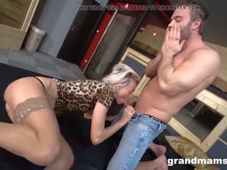 Sex oma 60 Russian